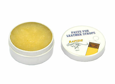 Leather Strop Yellow Paste, Balm For Honing Of Strap Belt Straight Razor New