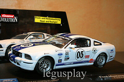 Slot SCX Scalextric Carrera 27134 Evolution Ford Mustang FR500C - New