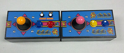 "New Complete Multicade 9"" Cocktail Control Panel Set-Ms PacMan-Galaga-Ms Pac Man"