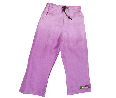 Girls Cropped trousers bamboo fabric age range 1-6 years