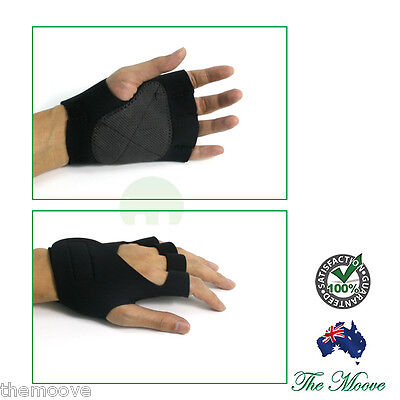 Weight Lifting Gym Gloves Training Fitness Workout Wrist Wrap Exercise Glove New