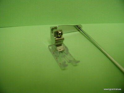 """For Singer Featherweight  CLEAR 1/4"""" PIECING/STRAIGHT STITCH  w/Seperate Guide"""
