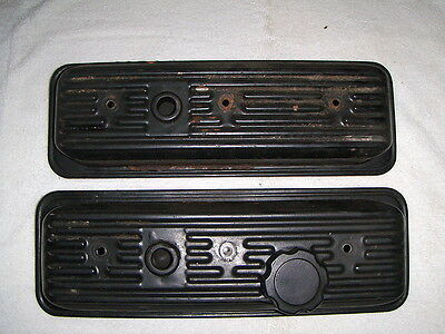 Marine V6 Chevy Engine Valve Covers MerCruiser Crusader Volvo Set of 2