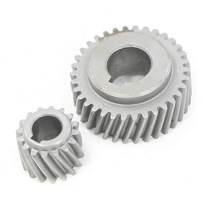 Electric Tool Helical Gear Pinion Set Replacement for Ken 4910 Marble Cutter