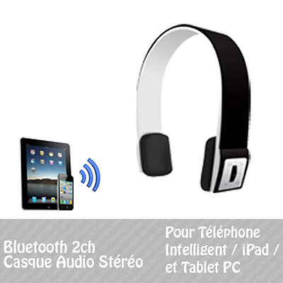 Casque Audio Bluetooth K Pour  Iphone/ Smartphone/ Tablet/mp3 Noir