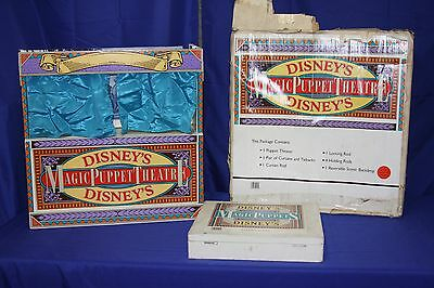 Walt Disney Magic Puppet Theatre Puppets Carrying Case Winnie The Pooh & Friends