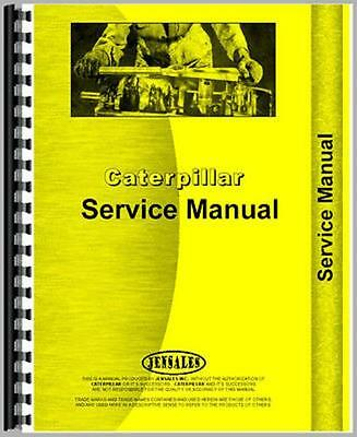 For Caterpillar D6B Crawler Service Manual (New)