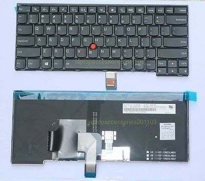 New For IBM Lenovo T431S T440S Backlit keyboard 04X0101 04X0139 0C43906 CS13T