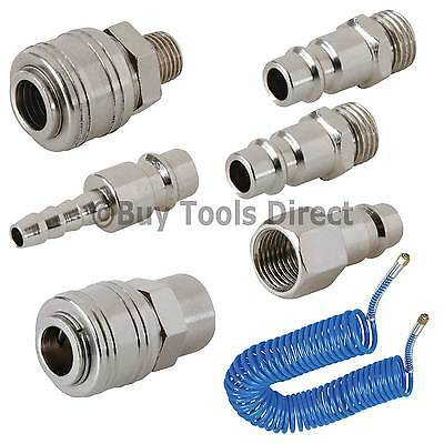 Euro Compressor Air Line Coupler Connector Fitting 1/4 BSP Quick Connect/Release