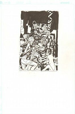 Steampunk #11 Cover Prelim - C - 2001 Signed original art by Chris Bachalo