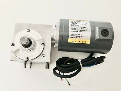 NEW Gear Drive Motor for Middleby Conveyor- 27384-0008 46603 47796