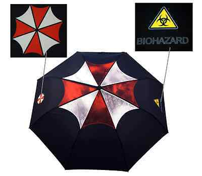 Resident Evil Biohazard Logo Umbrella sun protection Capcom game horror xbox