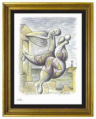 "Pablo Picasso Signed/Hand-Numbered Ltd Ed ""Bather w/Beach Ball"" Print (unframed)"