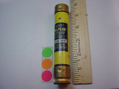 1 USED BUSSMANN  LPS-RK-35SP 35A 600V. Lo-Peak FUSE HAVE QTY. FAST SHIP
