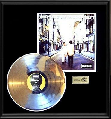 Oasis What's The Story Morning Glory Rare Lp Gold Record Platinum  Disc Album