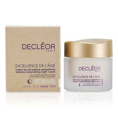 Decleor Excellence De L'Age Sublime Re-Densifying Night Cream 50ml
