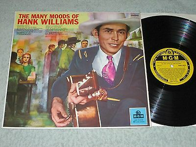 HANK WILLIAMS the many moods of MGM LP Mono MGM C 8023!