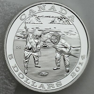 2013 Proof $5 Tradition of Hunting #1-Deer .9999 Silver Canada COIN /& COA ONLY f
