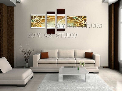 Details about  Handmade Artcrafts Large Modern Abstract Painting Wall(No frame)