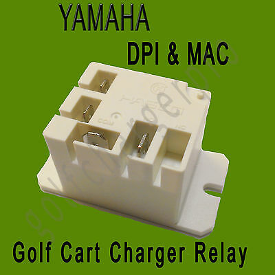 YAMAHA DPI MAC Golf Cart Charger 40 Amp RELAY M1406-50-0 GCA-JU278-00-000