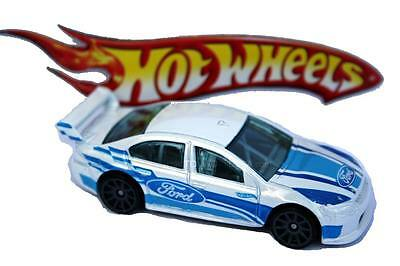 2012 Hot Wheels #4 New Models Ford Falcon Race Car white