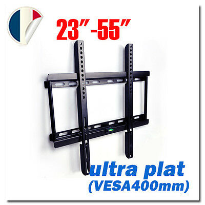support mural tv ecran pour tele led lcd samsung sony lg vesa max 400 x 400 09
