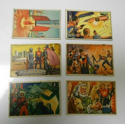 1951 Bowman SPACEMAN Cards #5 VG 18 VG 70 VG 101 VG+ 102 VG- 103 VG+ Lot of 6