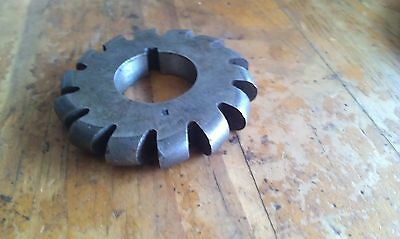 """HSS Convex Milling cutter 18mm. OD 3"""", slotted bore: 1"""", TEC"""