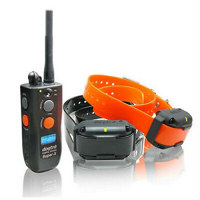 Dogtra 3502NCP 2 Dog Super-X 1 Mile Remote Trainer - Quick Ship USA Warranty