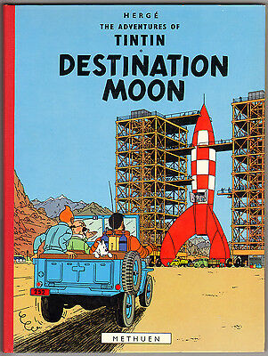 "VENTE Hergé, Lot n°18  ""DESTINATION MOON "" Methuen 1965 (Archive Casterman)"