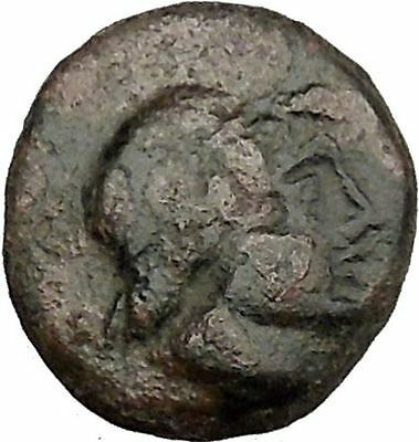 PANTIKAPAION in TAURIC CHERSONESOS 3-2CenBC Male Bow in Cse Greek Coin  i38517