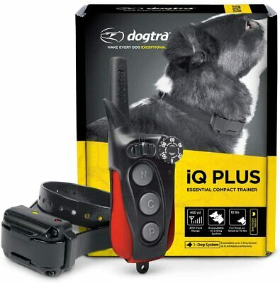Dogtra iQ-Plus Expandable Rechargeable 400 Yard Remote Dog Trainer e-Collar IQ
