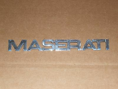 Maserati biturbo emblem May fit others