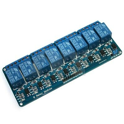 8-Channel 12V Relay Shield Module For Arduino UNO 2560 1280 ARM PIC AVR STM32