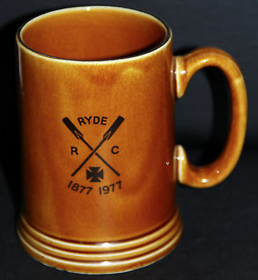 Ryde Rowing Club 1877-1977 Club Centenary Commemorative Ceramic Stein
