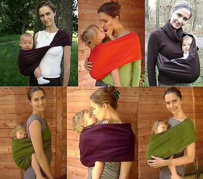 SUMMER SPRING BACK AND FRONT BABY SLING POUCH CORDUROY 100% COTTON WRAP CARRIER