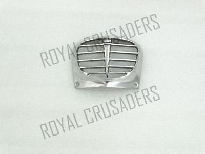 New Lambretta Polished Alloy Horn Grill Series 3 Li #vp578