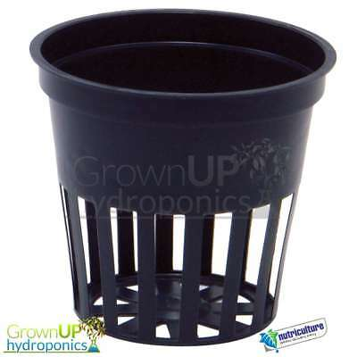 Round Plastic Mesh/Net Pots - 50mm and 80mm