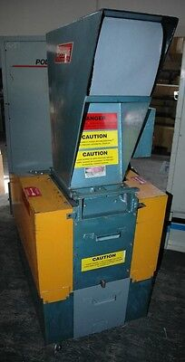 "LR SYSTEMS 7.5 HP Motor Plastic Granulator Throat size:11"" x 10"""