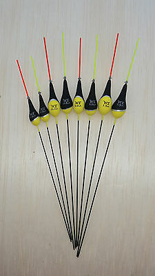 Pack of 5 High Quality Pole Fishing Floats WE313 Various Sizes Available