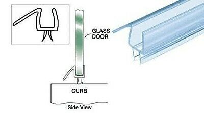 "CRL 1/2"" Wide Shower Door Sweep - CUT TO SIZE up to 32 5/8 inches long P912WS"