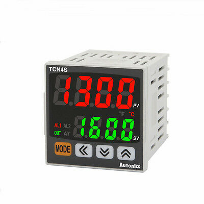 PID Temperature Controller TCN4S-24R Relay and SSR control 2 Alarm output 48x48