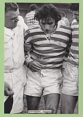 Jacques CHARDON,  International Rugby à XIII