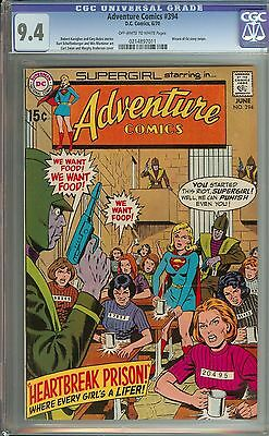 Adventure Comics #394 Cgc 9.4 Ow/wh Pages // Wizard Of Oz Story Swipe