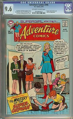 Adventure Comics #396 Cgc 9.6 Ow/wh Pages // Curt Swan/murphy Anderson Cover