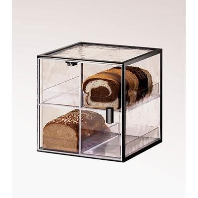 Cal-Mil - 1720-4 - 4 Drawer Black Bread Box Pastry Display Case