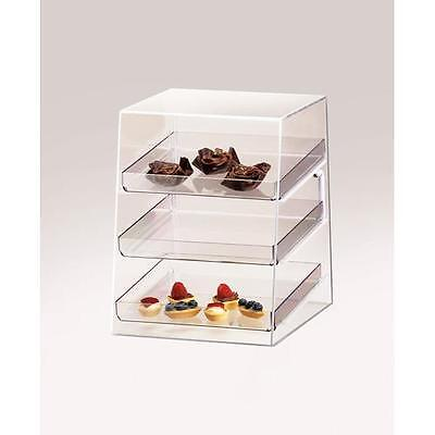 Cal-Mil - P257 - Euro 3-Tier Display Case Bakery, Pastry, Candy, Donut, Muffin