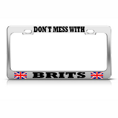 DON/'T MESS WITH FLORIDA STATE License Plate Frame