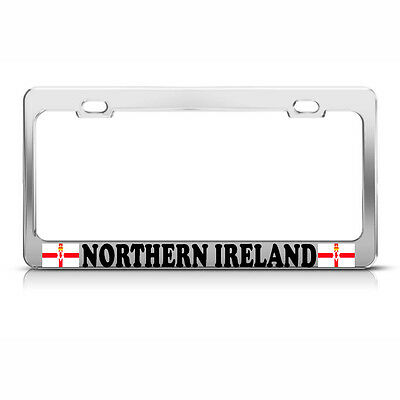 DON/'T TREAD ON ME USA Metal Heavy Duty Chrome License Plate Frame Tag Border