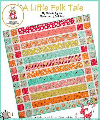 A Little Folk Tale - Quilt Kit - Natalie Lymer - Pattern & Fabric Included